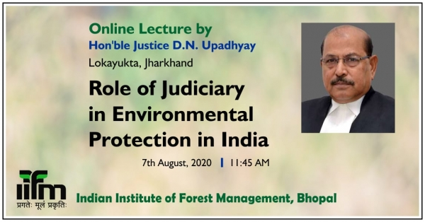 Online Lecture by Hon'ble Justice D.N.Upadhyay